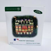 Department Dept 56 Christmas In The City Series Wrigley Field Stadium Ornament