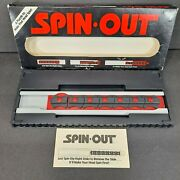 Vtg 1987 German Spin Out Puzzle Brain Teaser Game Binary Arts William Keister