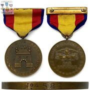 Nọ 4582 U.s. Army Spanish Campaign Medal Sgt. Roy M. Thompson Numbered Research
