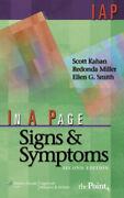 In A Page Signs And Symptoms In A Page Series By Kahan Scott