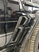 Carbon Fender Covers For Mercedes Benz G-class W463a Renegade Design