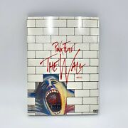 Pink Floyd The Wall 25th Anniversary Deluxe Edition Dvd - Poster Included