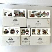 Dept 56 Heritage Village Letters For Sing A Song Snow Cone Toymaker Elves Mrs C