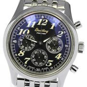 Breitling Navitimer Premier A40035 Chronograph Automatic Menand039s Watch_604793