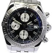 Breitling Chronomat Evolution A13356 Chronograph Automatic Menand039s Watch_634041