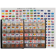 Coin Collection Starter Kit 180 Countries Coins/100 Original Genuine