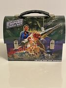 Star Wars The Empire Strikes Back Metal Tin Lunchbox Toy Carrier Dome Style 2012