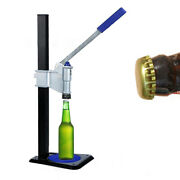 Manual Beer Bottle Bench Capper Auto Lever Home Brew Beer Bottle Capping Machine
