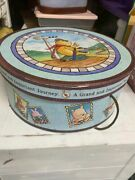 Vintage Collectible Winnie The Pooh Hat Box - Extremely Rare To Find