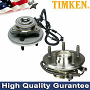 2pcs Timken Front Wheel Bearing And Hub Assembly For Compatible Ford Explorer