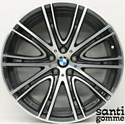 4 Rims Alloy 20 Bmw S 5 G30 Anthracite Grinding 8053501 8053502 Nearly New