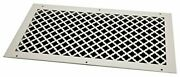 Steelcrest Btu24x12rwhh Bronze Series Designer Wall/ceiling Vent Cover With M...