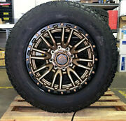 20x9 Fuel D681 Rebel Bronze Wheels 34 Goodyear Tires 8x170 Ford Excursion F350