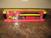 Die-cast Promotions Volvo Vt 800 Day Cab Tractor W/ Heil Fuel Tanker Trailer
