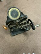 Vintage Addressograph Multigraph Co. Graphotype Wwi Wwii Dog Tag Print Machine