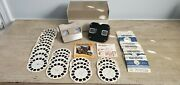 Vintage 1960's Sawyer's View-masters Bundle With 2 Viewers And 30 Reels