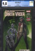 Darth Vader 3 2015 3rd Print Cgc 9.8 Wp 1st Doctor Aphra Appearance Star Wars