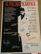 Cool Scarface 1983 Signed Movie Poster 11 Sigs Autographed Pacino Stone Loggia