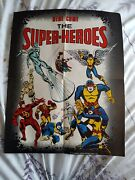 Silver Surfer Marvel The Super-heroes 1 - 1975 -with Original Free Poster