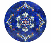 36 Marble Dining Table Top Inlay Rare Stones Round Center Coffee Table Ar1120