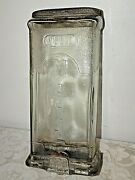 Antique 1920 1930 Glass Visible Mailbox Postal Post - George F. Collins And Co Usa