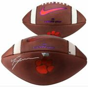 Trevor Lawrence Clemson Tigers Signed Nike Official Game Football