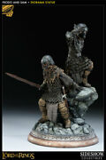 Sideshow Exclusive Lord Of The Rings Frodo And Samwise Diorama Statue 127/500