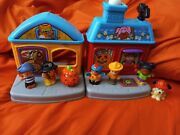 Fisher Price Little People Trick Or Treat Surprise Halloween House 6 Kids