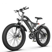 Aostirmotor Electric Bicycle 750w 48v 11.4ah Battery Free 5-day Shipping