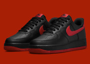 Nike Air Force 1 And03907 Shoes Black University Red Dc2911-001 Menand039s Multi Size New