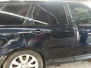 14 Range Rover Sport Right Rear Door W/privacy Tint Glass Black 860
