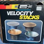 Mr. Gasket Velocity Stack Day Two 1960and039s 1970and039s 1980and039s Muscle Tunnel Ram W/box