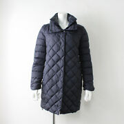 Large Size Duvetica Duvetica High Neck Quilting Downcoat 42/navy 2400012048829