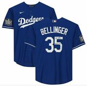Cody Bellinger Los Angeles Dodgers Signed 2020 Mlb World Series Champions Jersey