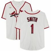 Ozzie Smith St. Louis Cardinals Signed White Nike Jersey The Wizard