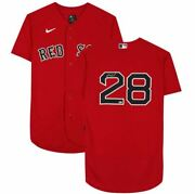 J.d. Martinez Boston Red Sox Signed Nike Red Authentic Jersey