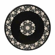 42 Marble Dining Table Top Inlay Rare Stones Round Center Coffee Table Ar1225
