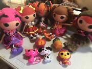 Mao Lot 5 Lalaloopsy Dolls Full Size Complete Teddy Peggy Confetti Ember Prairie