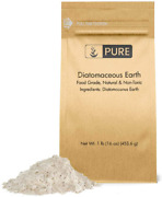 Pure Diatomaceous Earth 1 Lb., Hundreds Of Uses