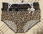 Bebe Intimates Plus Size Hipsters Briefs Underwear 3 Pack Nwt 2x Tag Free