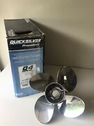Quicksilver Q4 14 X 13 4-blade Stainless Outboard Propeller 48-8m0055559 Mercury