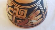 Rare Mabel Dashee Hopi Polychrome Pottery Bowl, Great Condition, C1930-40s