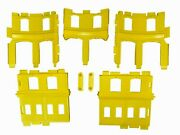 Thomas And Friends Super Station Parts Yellow Roundhouse Walls W/original Screws