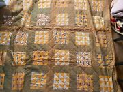 Vintage Quilt Squares Cutter All Hand Stitched Quilt Collectors