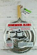 Stove Top Metal Simmer Ring Heat Diffuser For Gas And Electric Stove Range 3 Pack