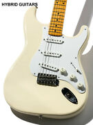 Fender Japan Exclusive Classic 50s Stratocaster Texas Special Vintage White 2015
