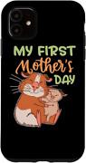 Iphone 11 My First Motherand039s Day Cute Guinea Pig Mom Mothers Case