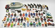 Playmobil Huge Figure Animal Vehicle And Accessory Lot