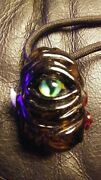 Heady Glass Cyclops Monster Maggot Pendent- Cannibis- Glass Water Pipes- 420
