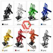 Fxcnc Front Rearsets Foot Pegs For Cbr500r/400r/cb500f/400f 2013-2019 2018 2017